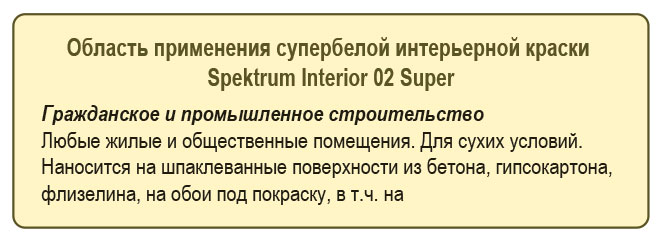 Spektrum Int 02 super применения