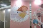 Гипермаркет «Эпицентр» - поклейка фотообоев в Киеве